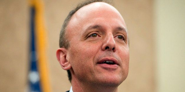 UNITED STATES - APRIL 18:  Rep. Ted Deutch, D-Fla., speaks at a summit in the Capitol Visitor Center on a constitutional amen