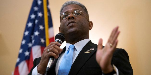 UNITED STATES - AUGUST 23:  Rep. Allen West, R-Fla., of Florida?s 18th District, speaks to a meeting of the Independent Insur