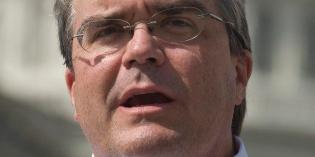 UNITED STATES - SEPTEMBER 23:  Rep. John Culberson, R-Texas, speaks during the news conference at the House Triangle on Wedne