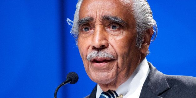 WASHINGTON, DC - SEPTEMBER 19:  U.S. Representative of New Yorks 13th District Charles Rangel speaks at the National Town Hal
