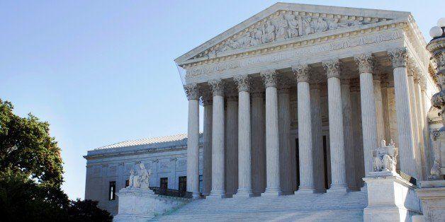 usa supreme court building in...