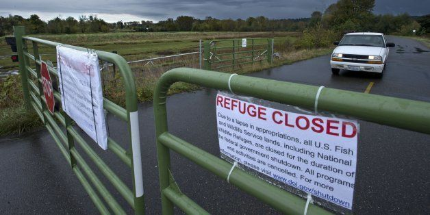 The Nisqually National Wildlife Refuge was closed due to the federal government shutdown on Tuesday October 1, 2013. (Dean J.
