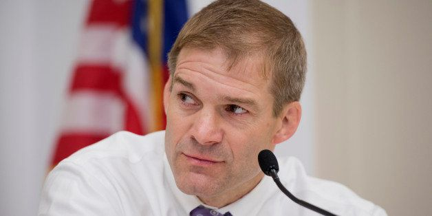 UNITED STATES - MAY 09:  Rep. Jim Jordan, R-Ohio, speaks at a forum in Rayburn called a Conversations with Conservatives to d