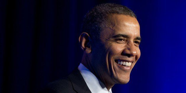 US President Barack Obama speaks about the healthcare reform laws, known as Obamacare, at an Organizing for Action event in W