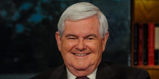 MEET THE PRESS -- Pictured: (l-r)  Newt Gingrich, Former Speaker of the House, appears on 'Meet the Press' in Washington, D.C
