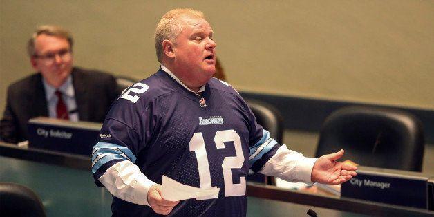 TORONTO, ON - NOVEMBER 14  - Mayor Rob Ford at council meeting, November 14, 2013.        (Andrew Francis Wallace/Toronto Sta