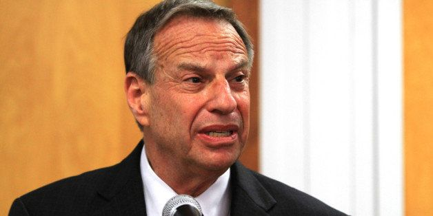 SAN DIEGO, CA - JULY 26: Mayor Bob Filner of San Diego speaks at a press conference announcing his intention to seek professi