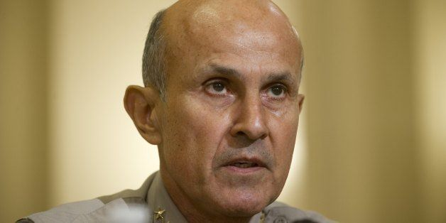 Leroy Baca, Sheriff of Los Angeles County, testifies before the Committee on Homeland Security holds the first in a series of