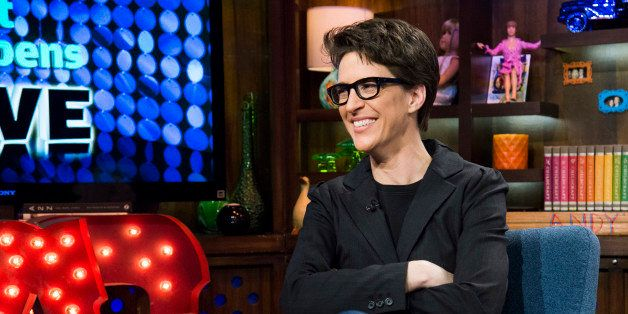WATCH WHAT HAPPENS LIVE -- Pictured: Rachel Maddow -- Photo by: Charles Sykes/Bravo/NBCU Photo Bank via Getty Images