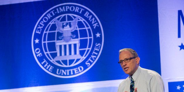 Fred Hochberg, chairman and president of the U.S. Export-Import Bank, speaks during the U.S. Export-Import Bank annual confer