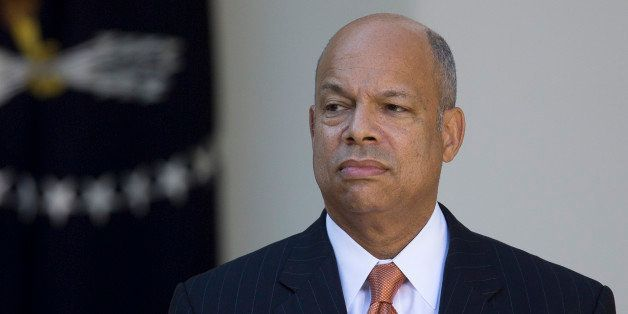 Jeh Johnson, former Pentagon general counsel and U.S. President Barack Obama's nominee as secretary of Homeland Security, lis