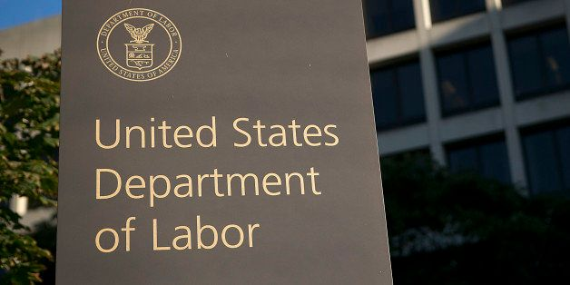 The U.S. Department of Labor headquarters stands in Washington, D.C., U.S., on Tuesday, Sept. 11, 2012. The U.S. Department o