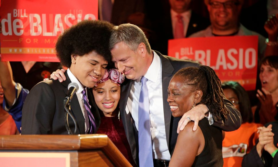 Among the big wins this year, Republican New Jersey Gov. Chris Christie celebrated victory, as did New York Democratic mayora