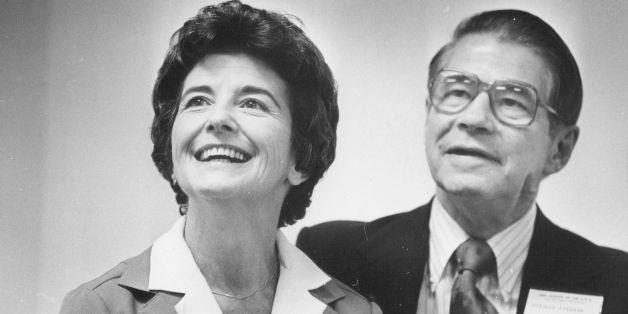 11-1978; Freeman, Jane & Mr. - Girl Scouts; Mr & Mrs Orville Freeman;  (Photo By John Sunderland/The Denver Post via Getty Im