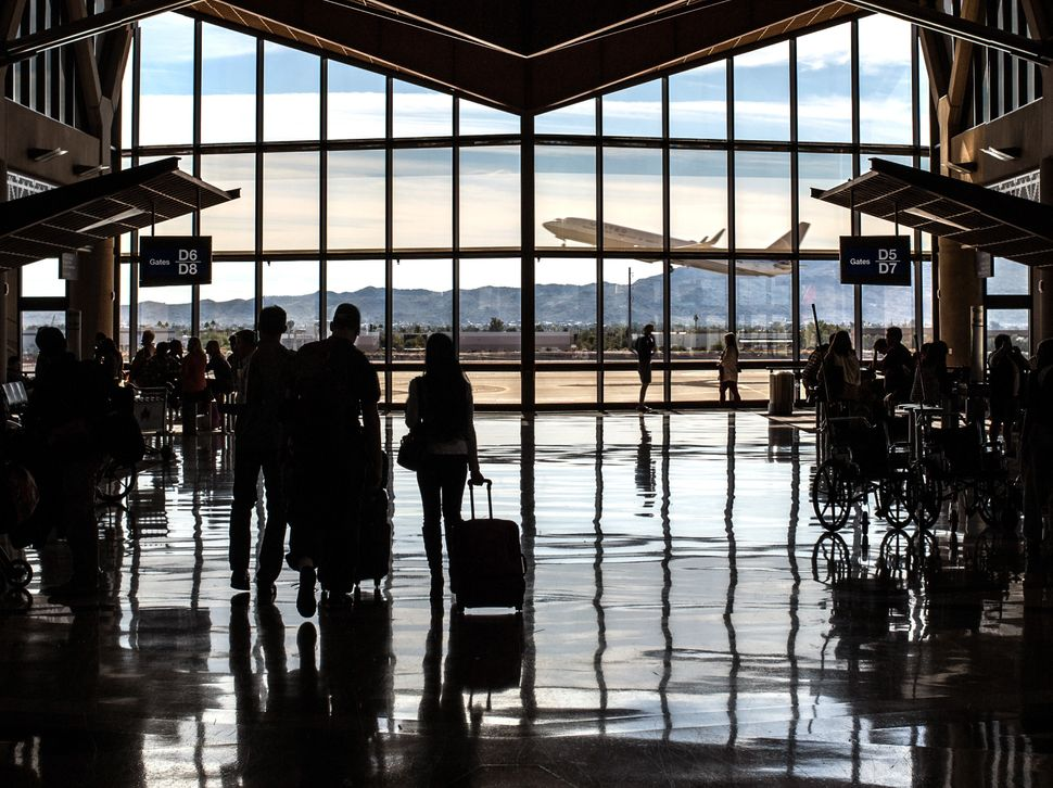 Phoenix Sky Harbor International Airport confiscated 65 guns from its passengers last year -- or one every five or six days -