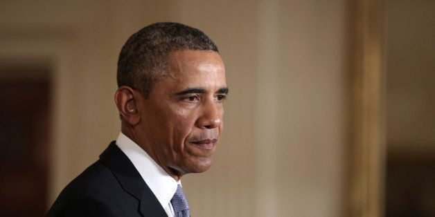 WASHINGTON, DC - JANUARY 07:  U.S. President Barack Obama speaks about unemployment insurance benefits during an East Room ev