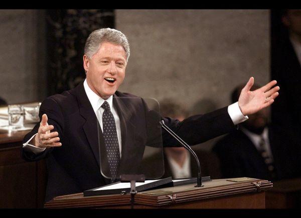 "President Clinton made a Freudian slip during <a href=""http://clinton4.nara.gov/WH/SOTU00/sotu-text.html"" target=""_hplink"">hi"
