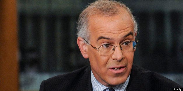 MEET THE PRESS -- Pictured: (l-r) ?  David Brooks, Columnist, The New York Times, appears on 'Meet the Press' in Washington,