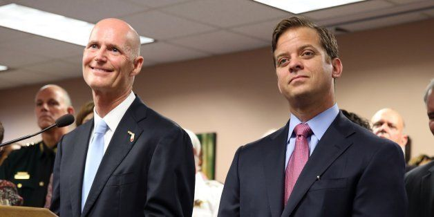 Florida Governor Rick Scott chose Miami-Dade County official Carlos Lopez-Cantera on Tuesday, Jan 14, 2014, to fill the vacan