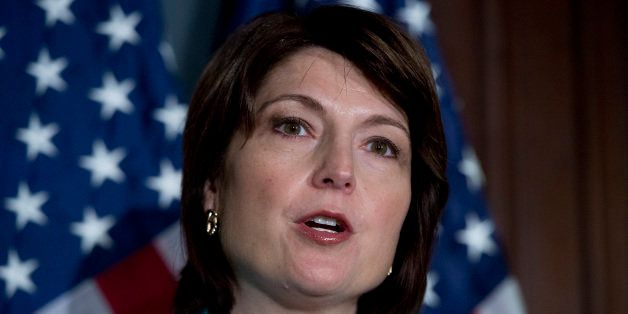 UNITED STATES - NOVEMBER 13: Rep. Cathy McMorris Rodgers, R-Wash., conducts a press conference at the RNC with House republic
