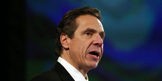 ALBANY, NY - JANUARY 08: New York State Governor Andrew Cuomo gives fourth State of the State address on January 8, 2014 in A