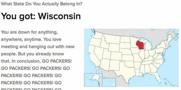 Here Is How BuzzFeed Knows You Actually Belong In Wisconsin ...