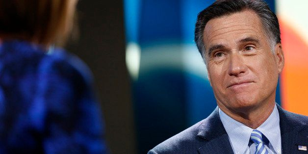 TODAY -- Pictured: Mitt Romney appears on NBC News' 'Today' show -- (Photo by: Peter Kramer/NBC/NBC NewsWire via Getty Images