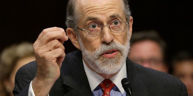 WASHINGTON, DC - JULY 24:  Frank Gaffney, founder and president of the Center for Security Policy, testifies during a hearing