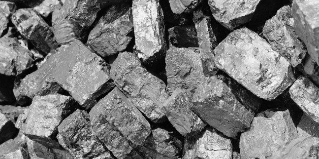 UNITED STATES - CIRCA 1950s:  Lumps of coal, close-up.  (Photo by H. Armstrong Roberts/Retrofile/Getty Images)