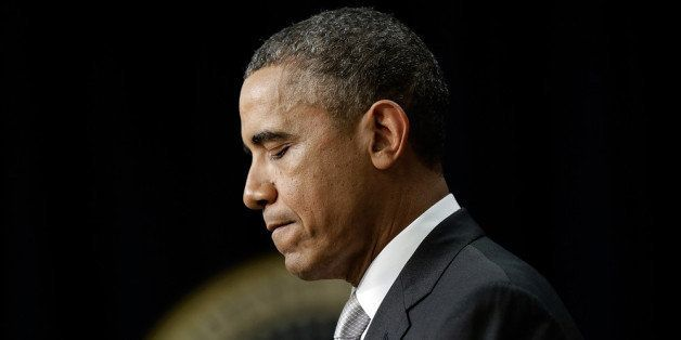 WASHINGTON, DC - DECEMBER 03:  U.S. President Barack Obama speaks on the Affordable Care Act in the Eisenhower Executive Offi