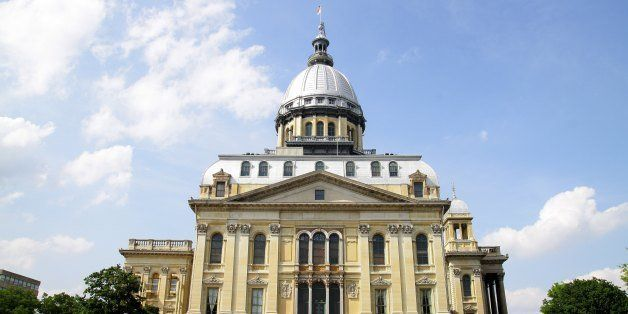 SPRINGFIELD, IL - MAY 05:  The Illinois State Capitol Building, in Springfield, Illinois on MAY 05, 2012.  (Photo By Raymond