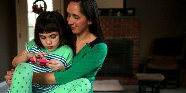 GEORGETOWN, MA - JANUARY 17: Jill Osborn hopes marijuana will help her daughter Haley, 7, with her seizures. Haley has a seve