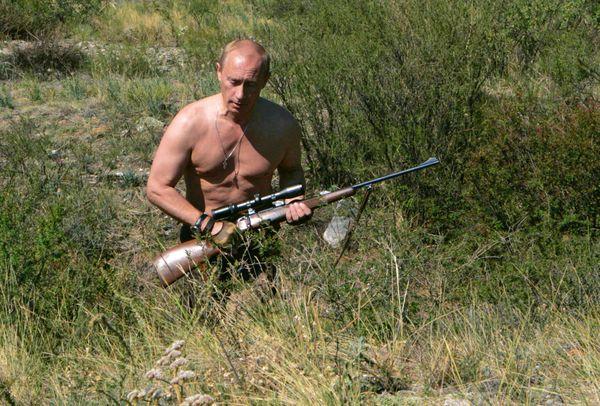 Gusta de la caza.  Foto tomada el 30 de octubre del 2010 en Siberia.