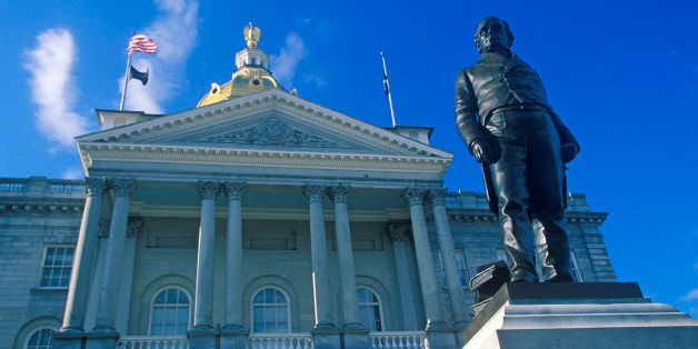 State Capitol of New Hampshire, Concord (Photo by Visions of America/UIG via Getty Images)