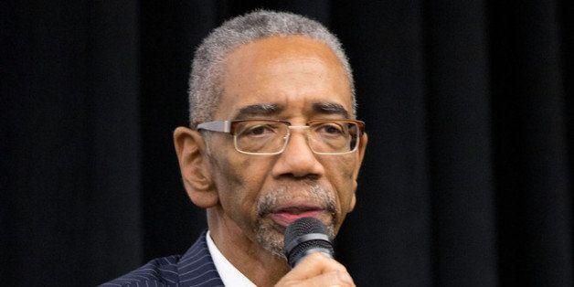 NEW YORK, NY - SEPTEMBER 26:  Bobby Rush speaks during the 'Black November' New York City Premiere at United Nations on Septe