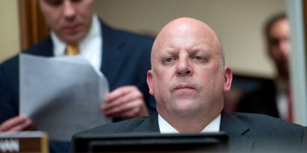 UNITED STATES - OCTOBER 10: Rep. Scott DesJarlais, R-Tenn., at a House Oversight and Government Reform Committee hearing on '