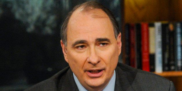 MEET THE PRESS -- Pictured: (l-r)      David Axelrod, Democratic Strategist, appears on 'Meet the Press' in Washington, D.C.,