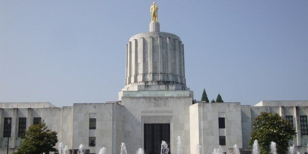 [UNVERIFIED CONTENT] The Oregon State Capitol Building in Salem was designed in Art Deco style by architect Francis Keally of