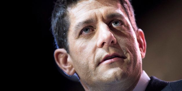 Rep. Paul Ryan (R-WI), House Budget Committee Chairman, speaks during the American Conservative Union Conference March 6, 201