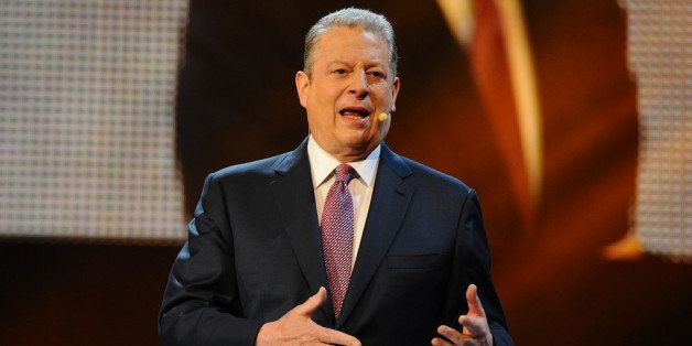 LONDON, ENGLAND - MARCH 07:  Al Gore attends as Free The Children hosts their debut UK global youth empowerment event, We Day