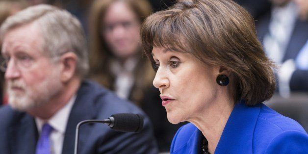 Lois Lerner, former director of the Tax Exempt and Government Entities Division at the Internal Revenue Service, exorcises he