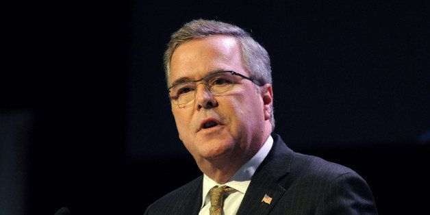 Jeb Bush, former governor of Florida, speaks at the Securities Industry and Financial Markets Association (SIFMA) annual meet