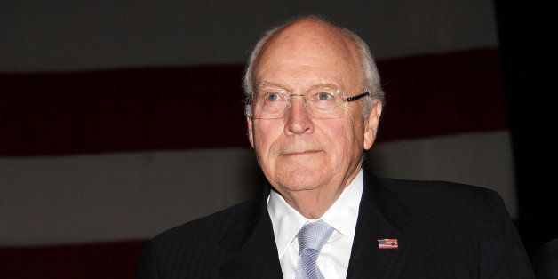 NEW YORK, NY - NOVEMBER 22:  Dick Cheney attends the 2013 Federal Law Enforcement Foundation Luncheon at The Waldorf=Astoria