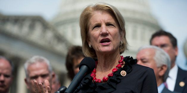 UNITED STATES - SEPTEMBER 26: Rep. Shelley Moore Capito, R-W.Va., speaks at the House Triangle during the Coal Caucus' news c