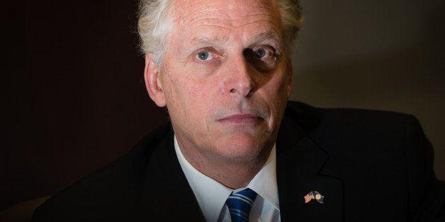 LEESBURG, VA - FEBRUARY 24: Virginia Governor, Terry McAuliffe visited Inova Loudoun Hospital in Leesburg, VA on Monday Febr