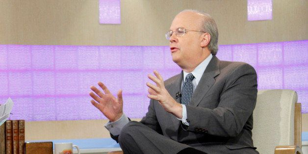 TODAY -- Pictured: (l-r) Matt Lauer and Karl Rove appear on NBC News' 'Today' show  (Photo by Peter Kramer/NBC/NBCU Photo Ban
