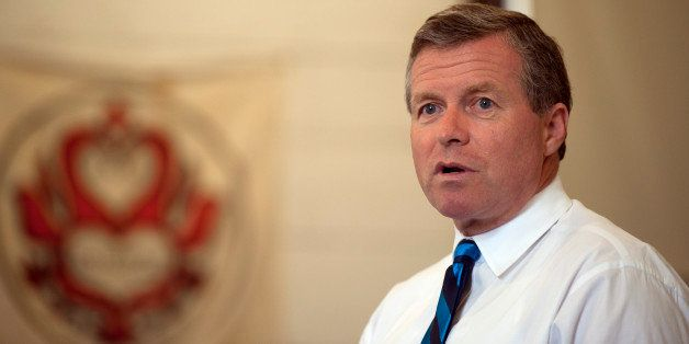 UNITED STATES - August 26: Rep. Charlie Dent, R-PA., hosted a Town Hall Meeting for constituents of the 15th District of Penn