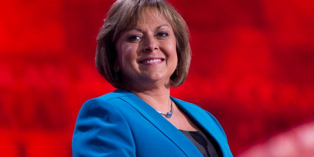 UNITED STATES - AUGUST 29:  Gov. Susana Martinez, R-N.M., addresses the Republican National Convention in the Tampa Bay Times