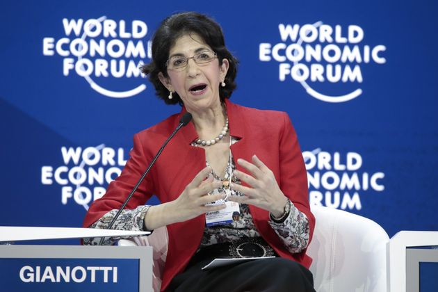 Fabiola Gianotti, director general of Cern and the first woman to head up the
