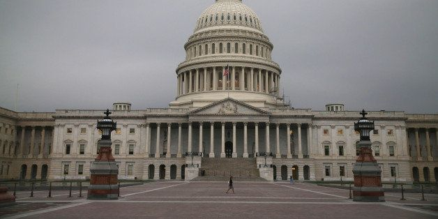 WASHINGTON, DC - JUNE 11:  The U.S. Capitol is shown on the morning of June 11, 2014 in Washington, DC. Yesterday House Major